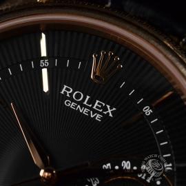 21396S Rolex Cellini Date 18ct Everose Close6 3