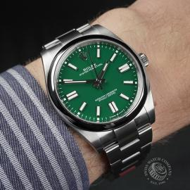 RO22549S Rolex Oyster Perpetual 41 Unworn Wrist