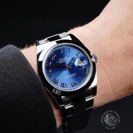 RO21738S Rolex Datejust 41mm Wrist