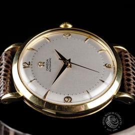OM868F Omega Vintage 18ct Close  6 1