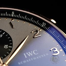 IW21979S IWC Portuguese 18ct Chronograph Close5
