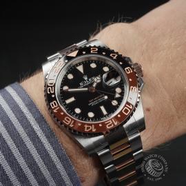 RO22536S Rolex GMT-Master II Unworn Wrist