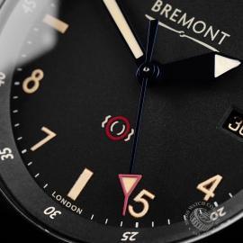 BM21731S Bremont U-2 Black Jet Pilot Watch Close4 1