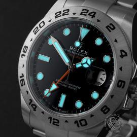 RO22474S Rolex Explorer II Orange Hand Unworn Close1