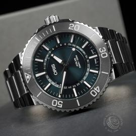 OR22678S Oris Aquis Source Of Life Limited Edition Close8
