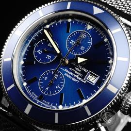 BR21864S Breitling Superocean Heritage 46 Chronograph Close2 1