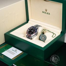 RO21783S Rolex GMT Master II BLRO Box