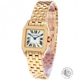 Cartier Ladies Santos Rose Gold Demoiselle