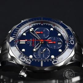 OM2139S Omega Seamaster Professional Chronograph Co Axial Close8 1