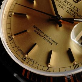 RO21796S Rolex Vintage Day-Date 18ct Close4