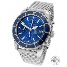 BR21864S Breitling Superocean Heritage 46 Chronograph Back