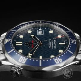 OM22308S Omega Seamaster Professional Co-Axial Close6