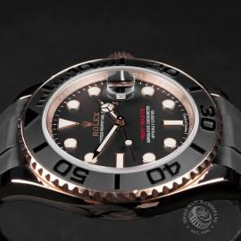 RO22598S Rolex Yachtmaster Everose Gold Close6