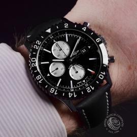 21434S Breitling Chronoliner Wrist