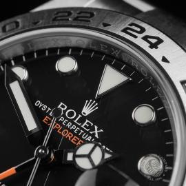 RO22374S Rolex Explorer II Orange Hand Close3