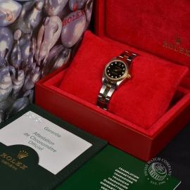 1873P Rolex Ladies Oyster Perpetual Box 1
