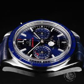 OM1923P Omega Speedmaster Moonphase Co-Axial Close6