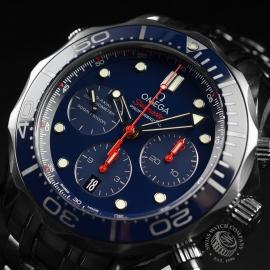 OM2139S Omega Seamaster Professional Chronograph Co Axial Close2