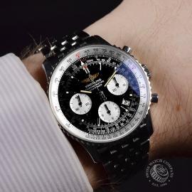 21407S Breitling Navitimer Wrist 2