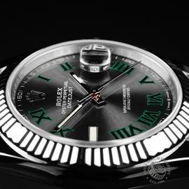 RO22173S Rolex Datejust 41 Unworn Close6