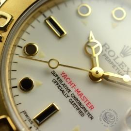 RO21031S Rolex Yachtmaster Mid Size 18ct Close7
