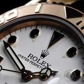 RO21757S Rolex Yacht-Master Mid size 18ct Close3