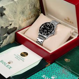 RO21827S Rolex Submariner Date Transitional Box