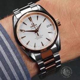 OM22617S Omega Seamaster Aqua Terra Mid-Size Wrist