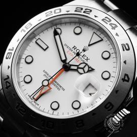 RO22284S Rolex Explorer II Orange Hand Close2