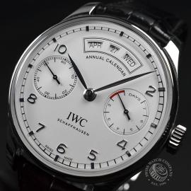 IW17931S IWC Portugieser Annual Calendar Close1