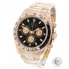 RO22074S Rolex Daytona Everose Gold Back