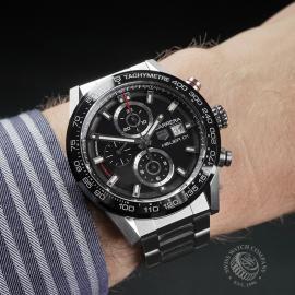 TA22562S Tag Heuer Carrera Calibre HEUER 01 Chronograph Wrist