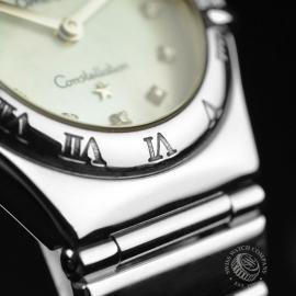 18013S Omega Ladies Constellation My Choice Mini Quartz Close11