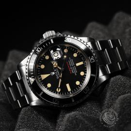RO823F Rolex Vintage Submariner Date 'Single Red' Close10