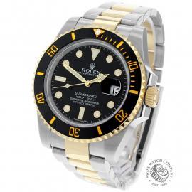 RO22521S Rolex Submariner Date Back 1