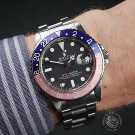 RO22229S Rolex Vintage GMT-Master  Wrist