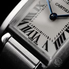 CA22133S Cartier Ladies Tank Francaise Small Model Close4