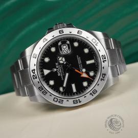 RO22408S Rolex Explorer II Orange Hand Close10