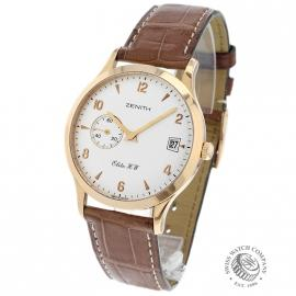 Zenith Elite HW 18ct Gold