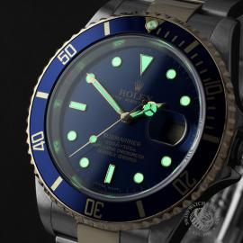RO22203S Rolex Submariner Date Close 1