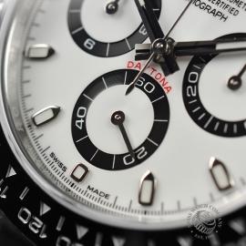 RO21354S Rolex Daytona - Cerachrom Bezel Model - Fully Stickered Close5