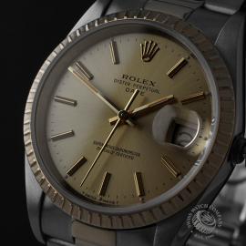 RO21991S Rolex Oyster Perpetual Date Close1