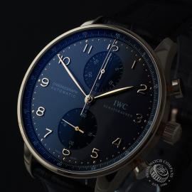 IW21979S IWC Portuguese 18ct Chronograph Close1