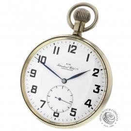 IW844F IWC Vintage 'Kriegsmarine' Pocketwatch Back