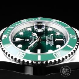 RO21728S Rolex Submariner Date Ceramic 'Hulk' Close6