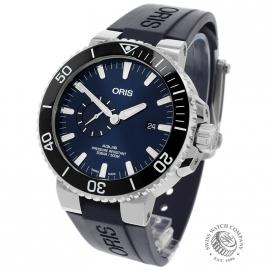 OR20915S Oris Aquis Small Second Back