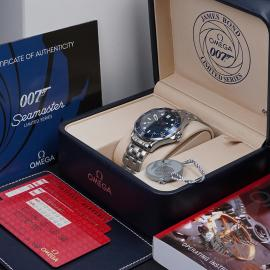 OM21529S Omega Seamaster James Bond 007 Limited Edition Box
