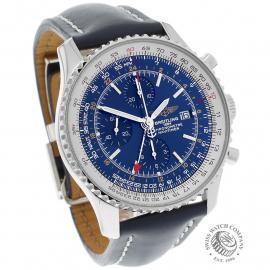BR22662S Breitling Navitimer World Chrono GMT Dial