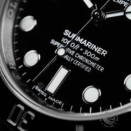 RO21761S Rolex Submariner Non Date Close4