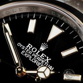 RO22464S Rolex Explorer 36 Bi-Metal Close 3